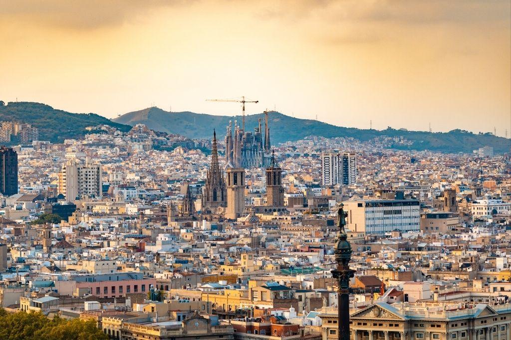 Comer paella en Barcelona