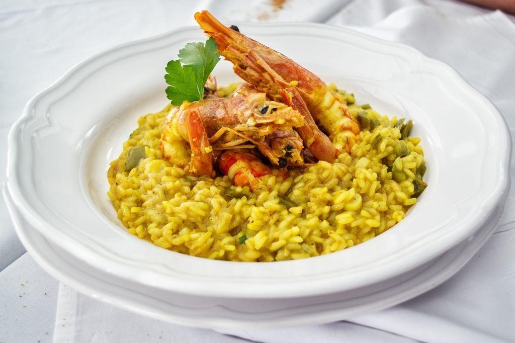 arroz paella arroz risotto